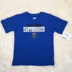 Other - New San Jose Earthquakes TShirt Blue 4T 3X